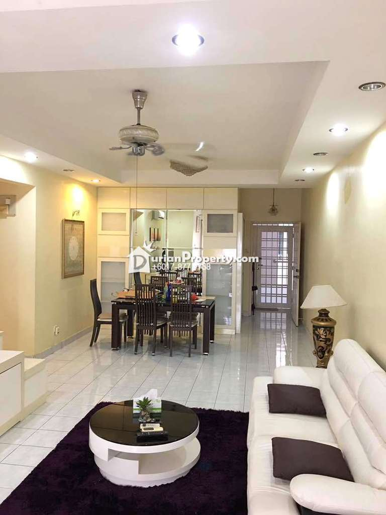 House For Rent Furnished Permas Ville Apartment