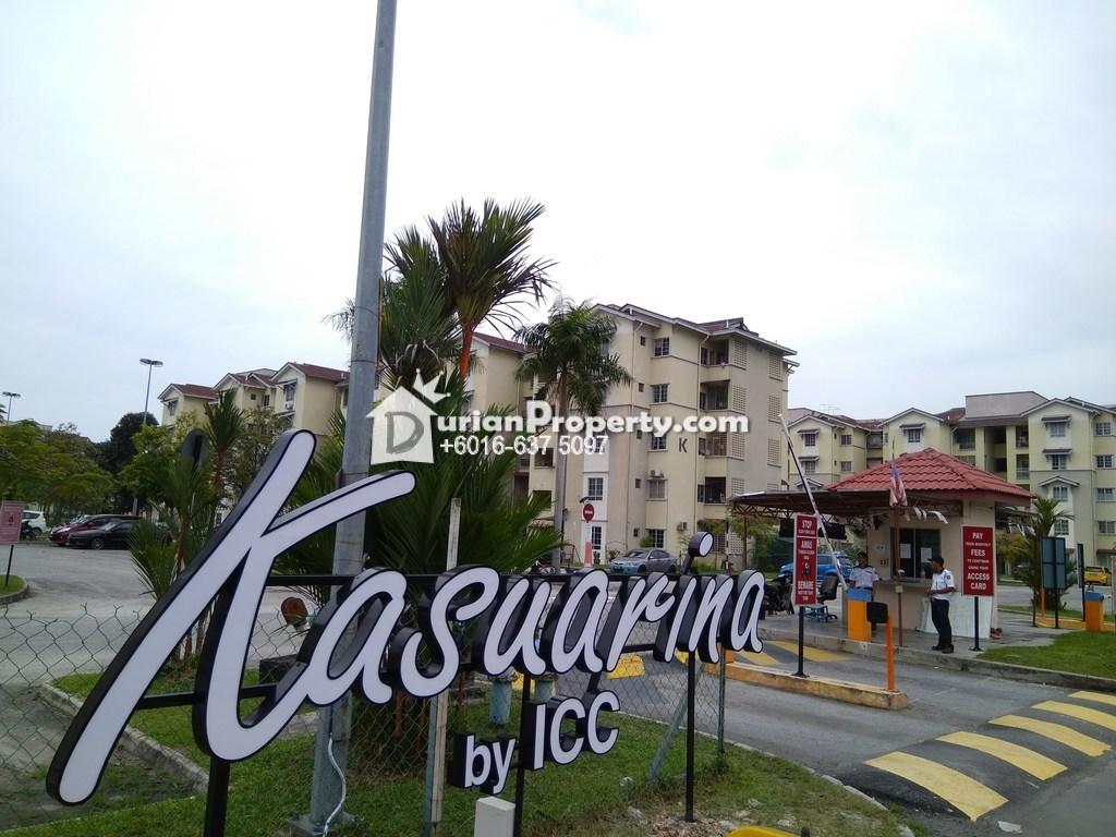 Apartment For Rent at Pangsapuri Kasuarina, Bandar Botanic