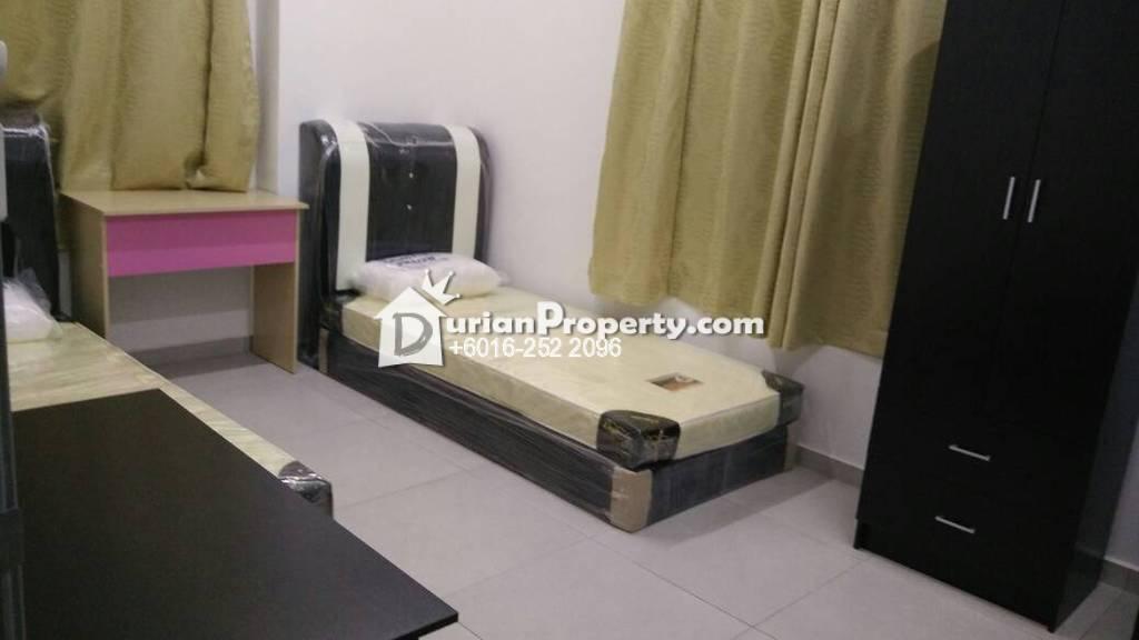 Condo Room for Rent at Unipark Condominium, Kajang