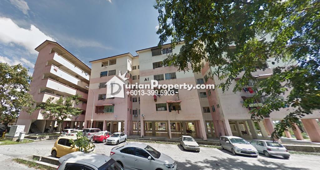 Flat For Sale at Ketitir Apartment, Seri Kembangan