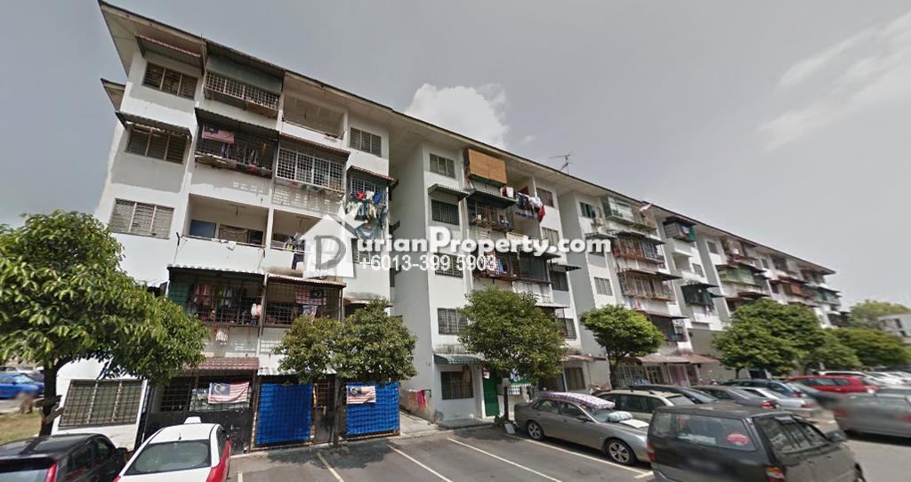 Flat For Sale at Merpati Apartments, Pandan Indah