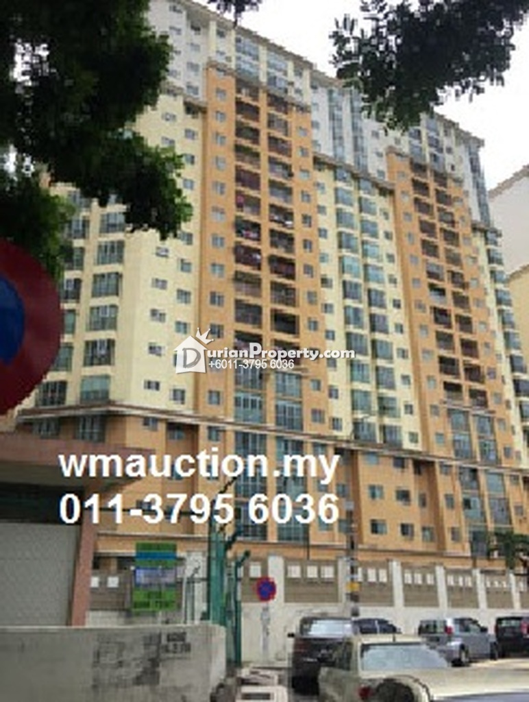 Condo For Auction at Sri Jati II, Old Klang Road