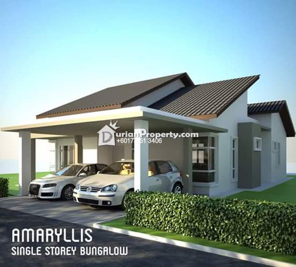 Bungalow house for sale at taman sutera wangi batu for Bungalow house for sale