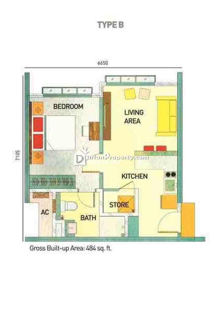 Condo For Rent at Kanvas, Cyberjaya