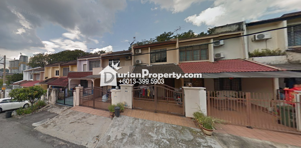 Terrace House For Sale at Taman Sri Sinar, Segambut