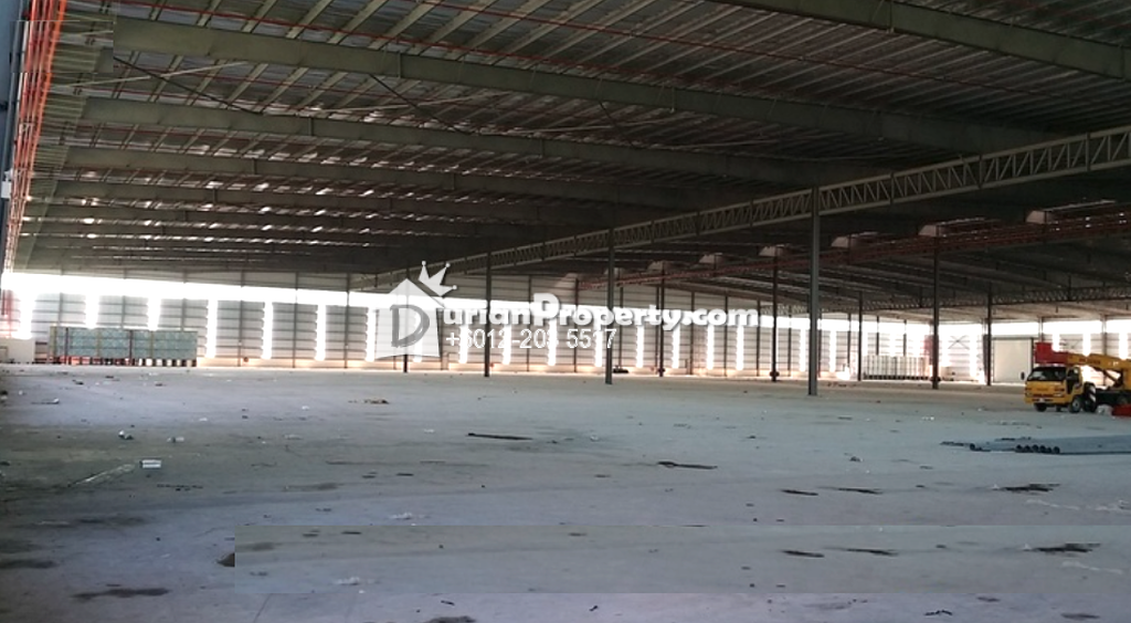 Detached Warehouse For Sale at Perdana Industrial Park, Port Klang