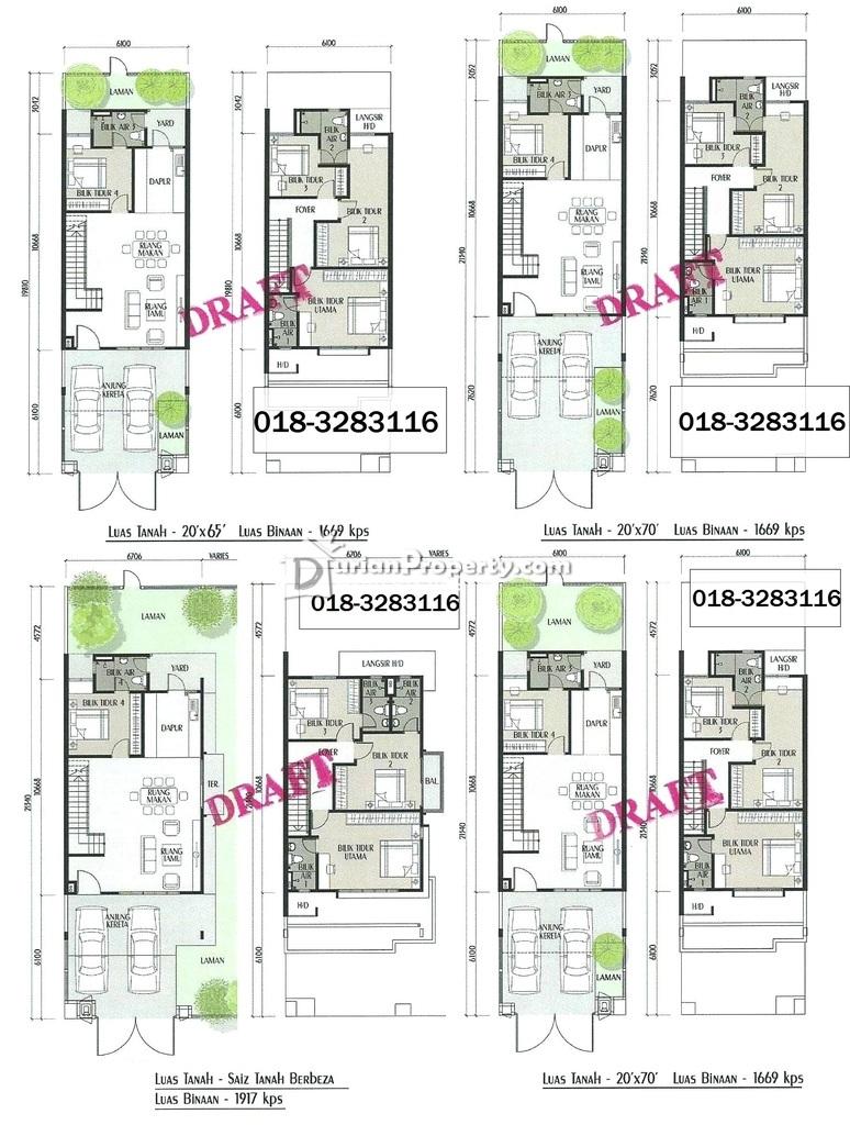 Terrace House For Sale at BRP 7, Bukit Rahman Putra