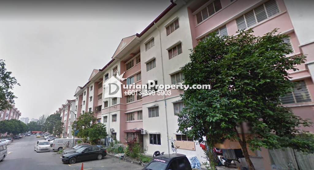 Apartment For Sale at Sri Dahlia Apartment, Bandar Puteri Puchong