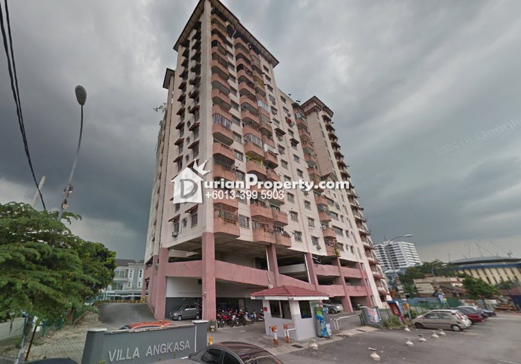 Apartment For Sale at Pangsapuri Villa Angkasa, Sentul