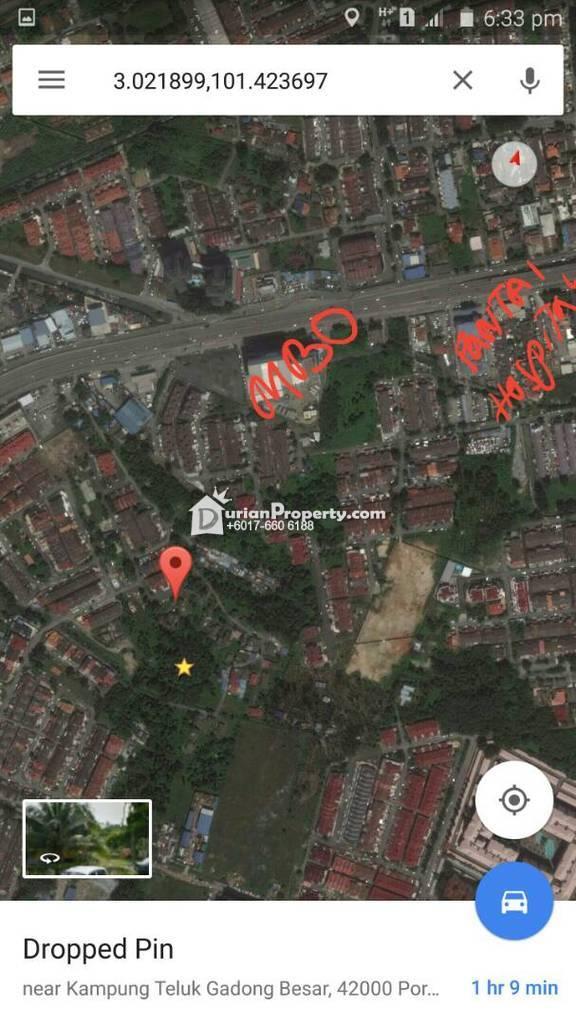 Residential Land For Sale at Klang, Selangor