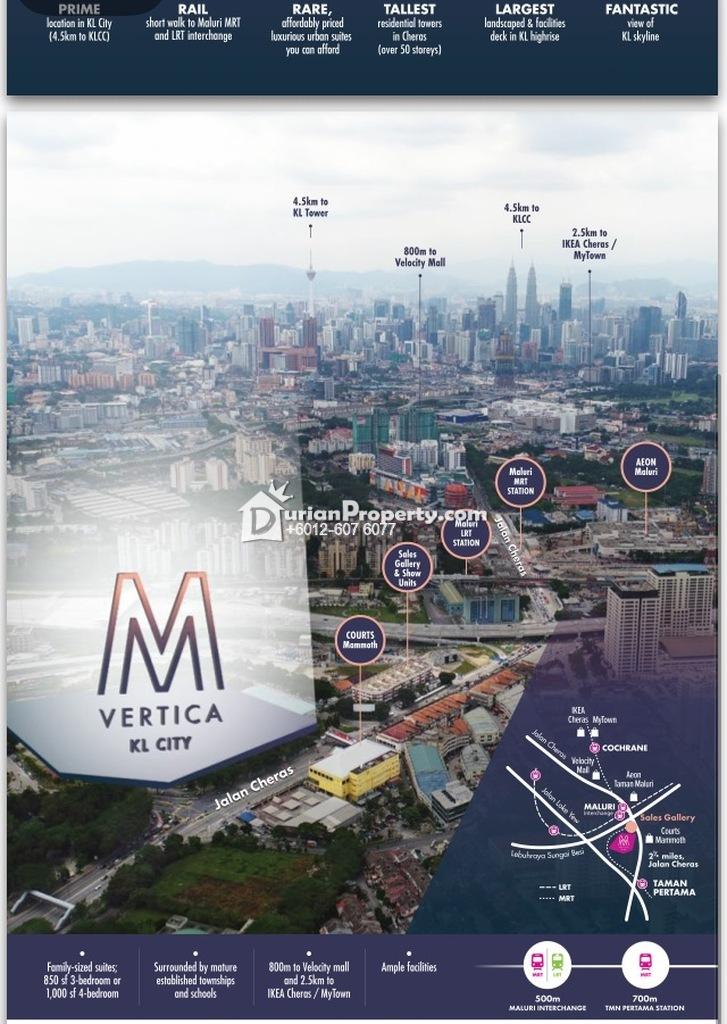 Condo For Sale at M Vertica, Cheras