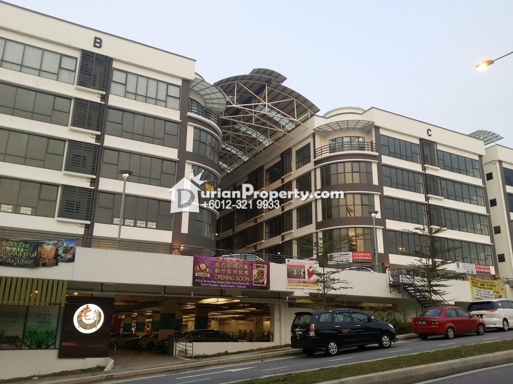 Shop Office For Sale at Seri Gembira Avenue, Kuchai Lama