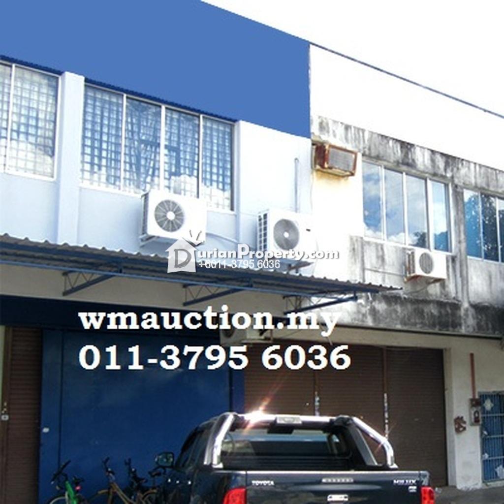 Terrace Factory For Auction At Taman Perindustrian Ringan