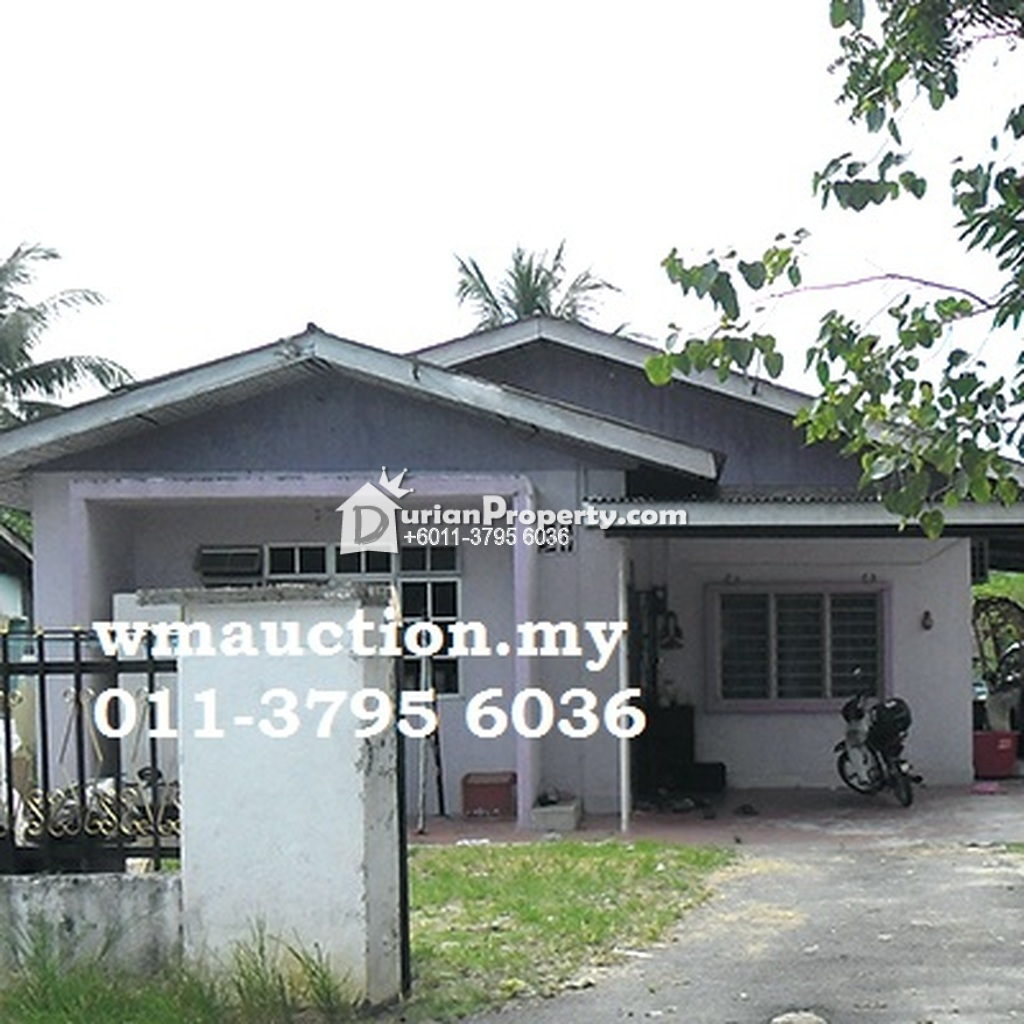 Bungalow House For Auction at Temoh, Perak