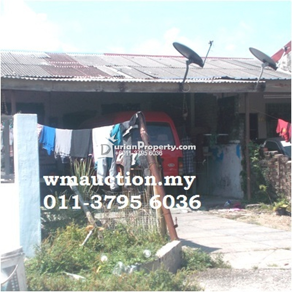 Terrace House For Auction at Taman Kinta, Gopeng
