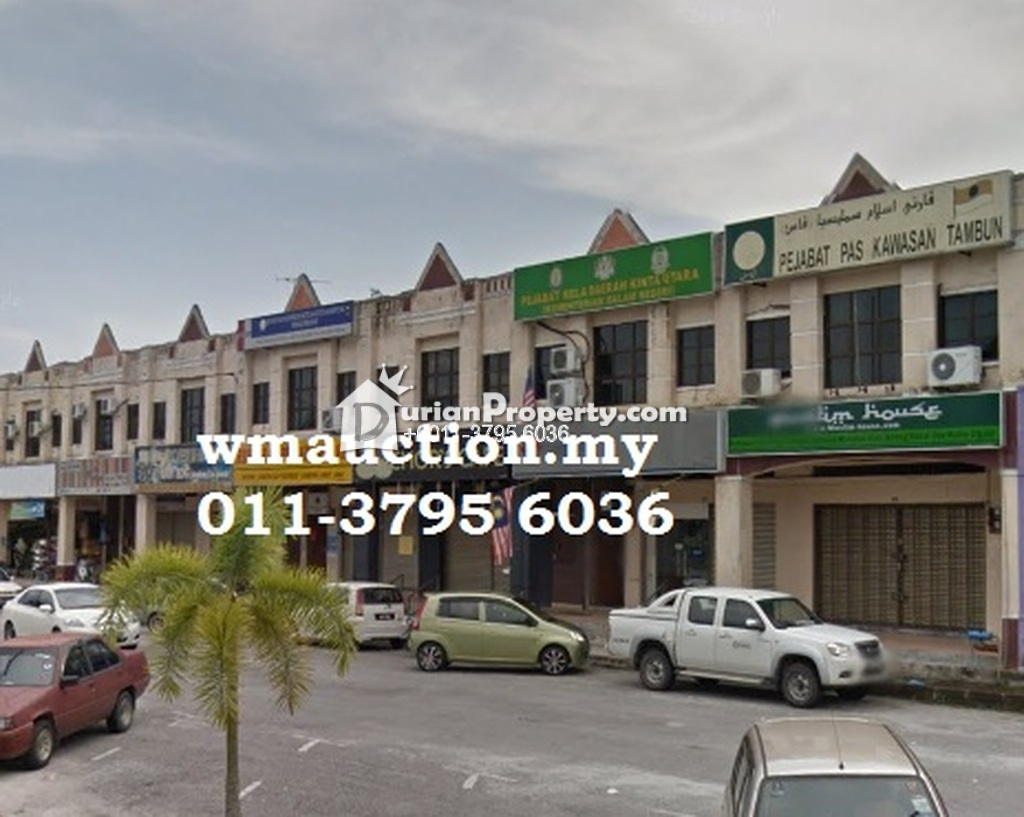 Shop Office For Auction at Taman Meru, Ipoh