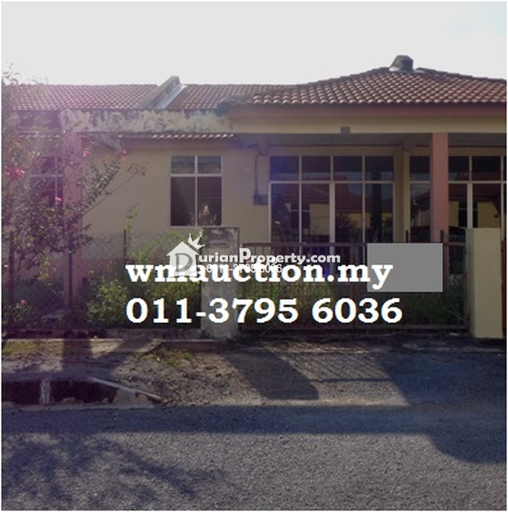 Terrace House For Auction at Kota Sarang Semut, Kedah