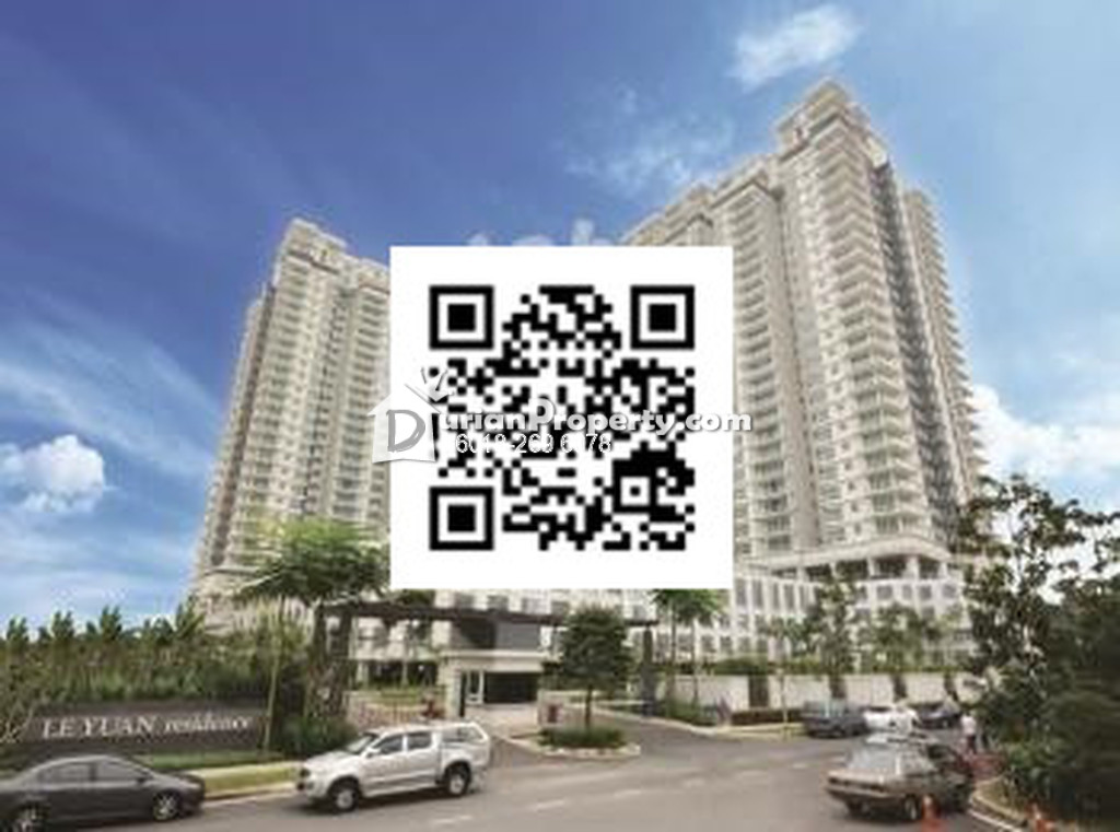 Condo For Sale at Le Yuan Residence, Kuchai Lama