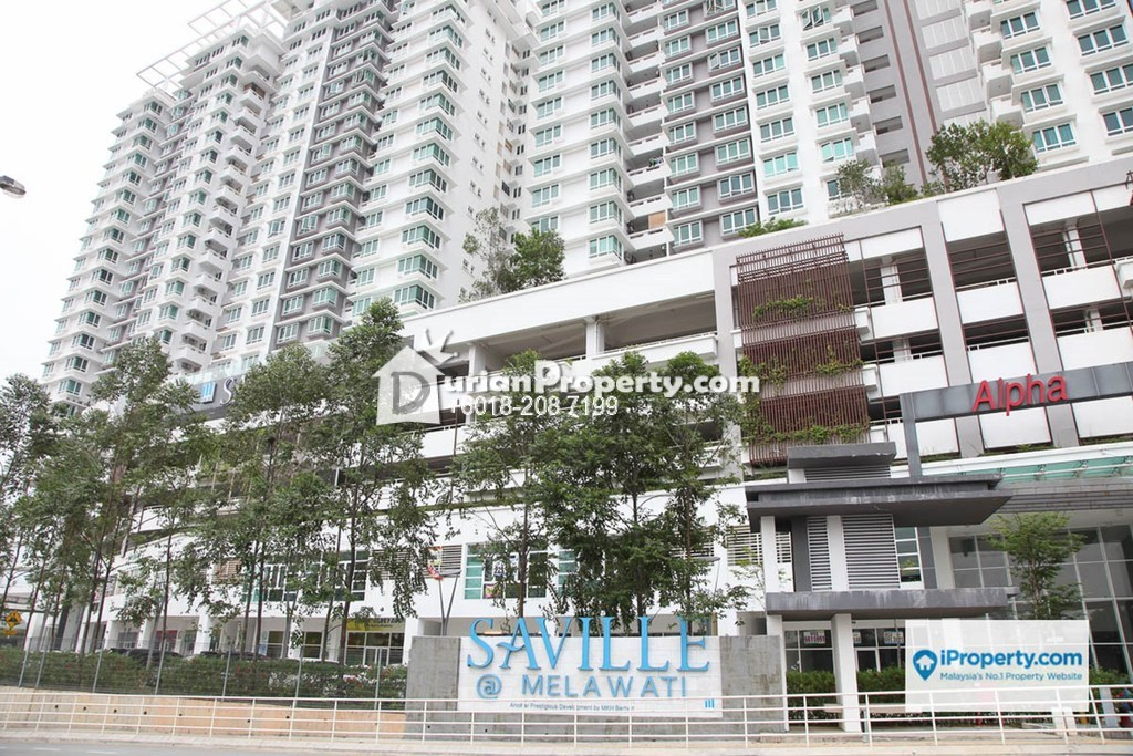 Serviced Residence For Rent at Saville, Melawati