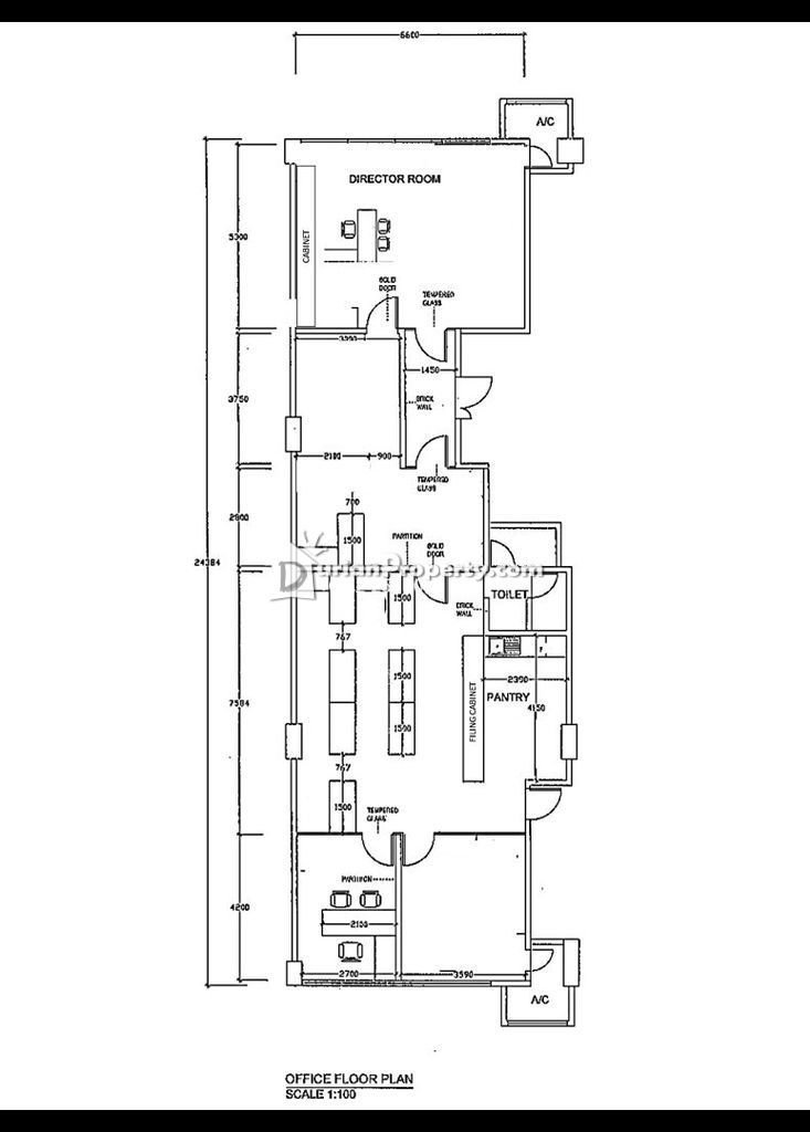 Schematic With Office Room