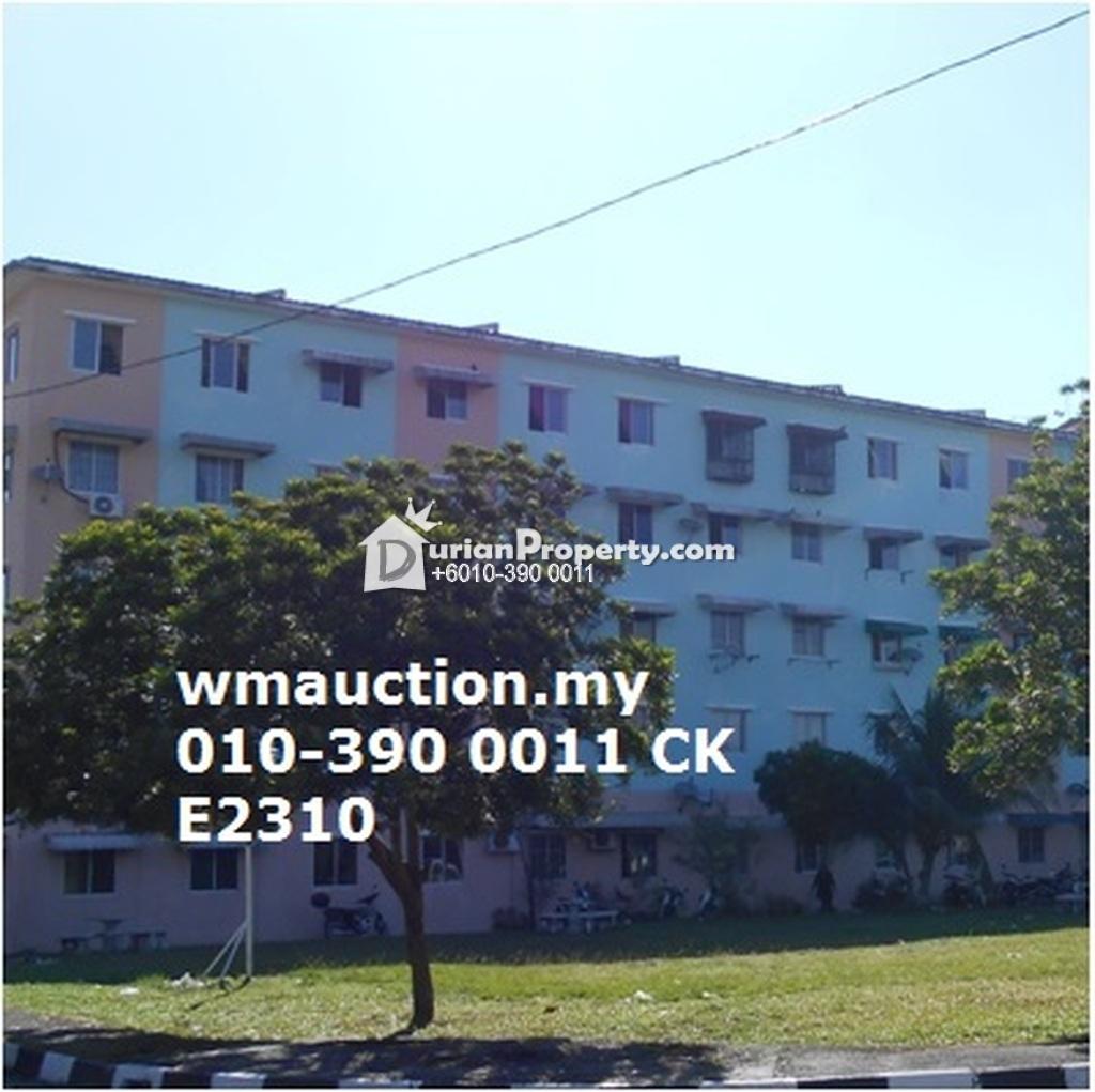 Apartment For Auction at Taman Teluk Kumbar, Teluk Kumbar