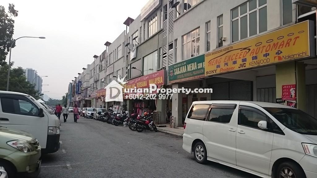 Shop For Rent at Taman Sri Rampai, Setapak