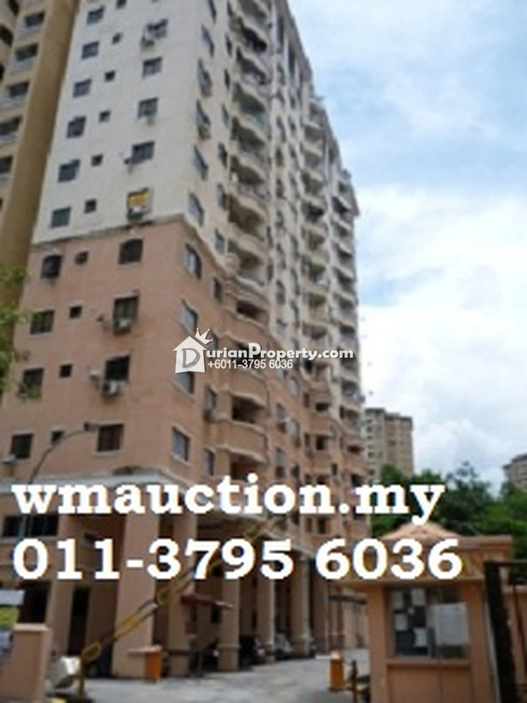 Apartment For Auction at Prima Saujana, Kepong