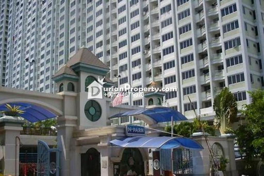 Condo For Rent at N-Park, Batu Uban