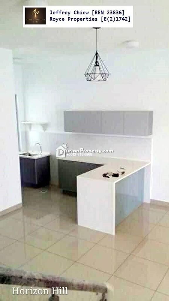 Terrace House For Sale at Horizon Hills, Nusajaya