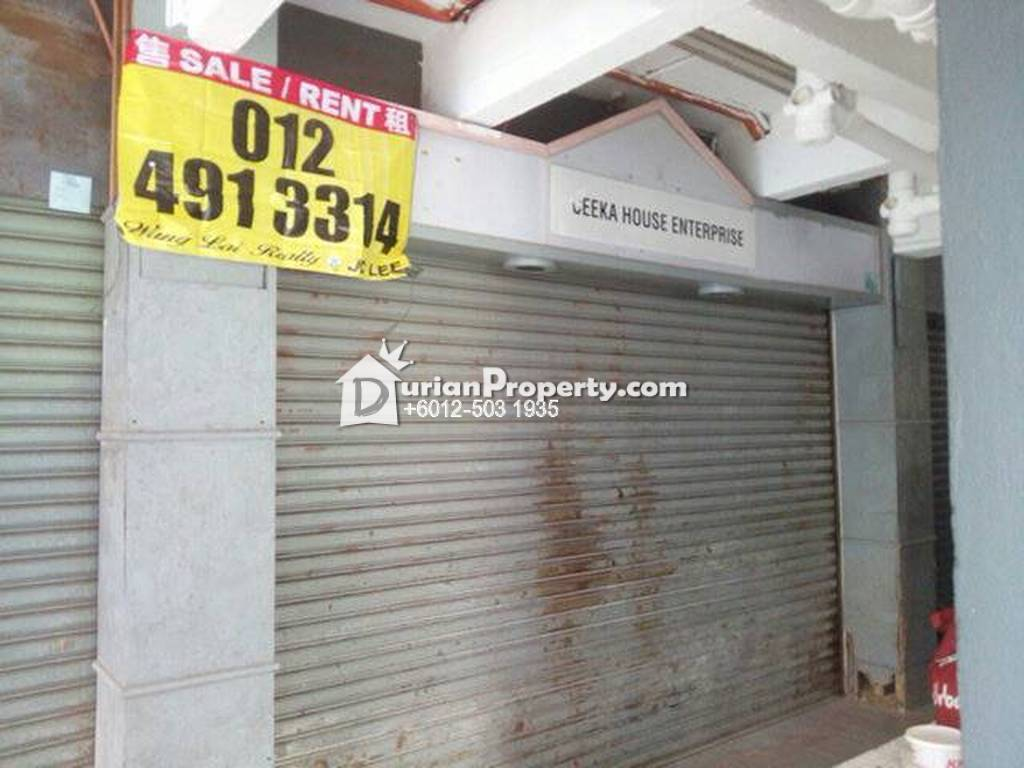 Shop Apartment For Rent at Taman Bukit Idaman, Selayang