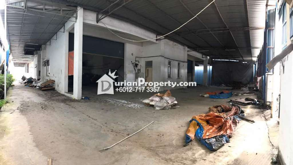 Semi-D Factory For Sale at Taman Universiti, Skudai