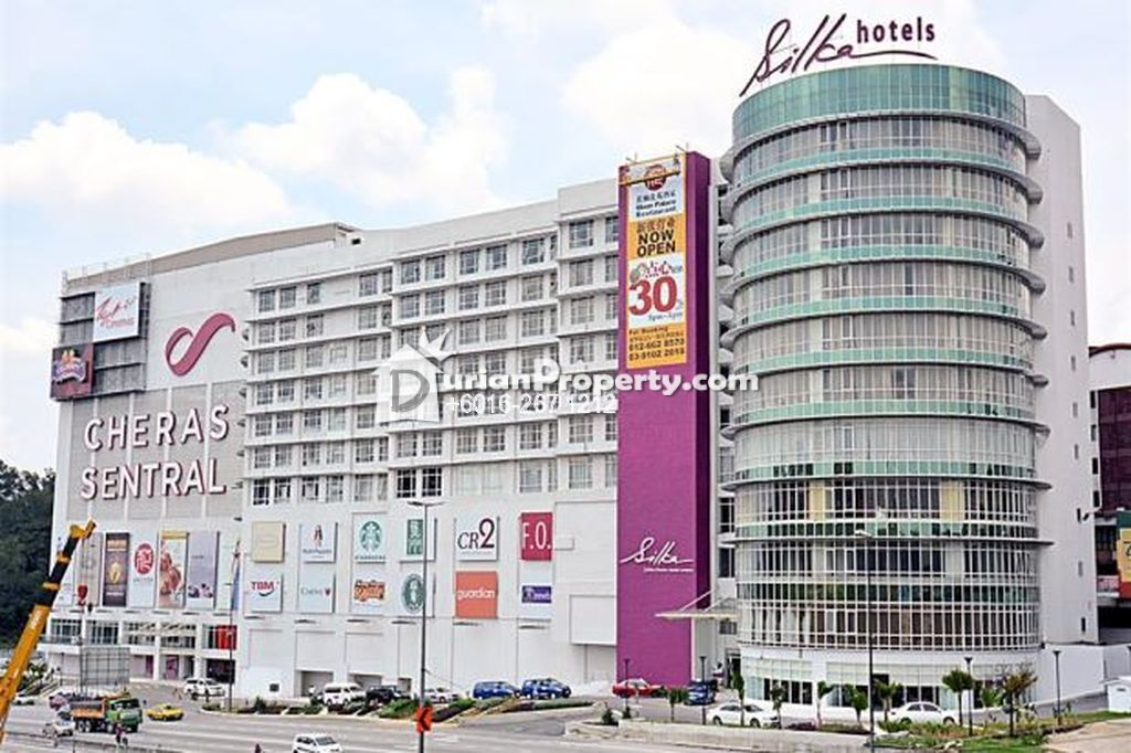 Retail Space For Sale at Cheras Sentral Mall, Taman Len Sen