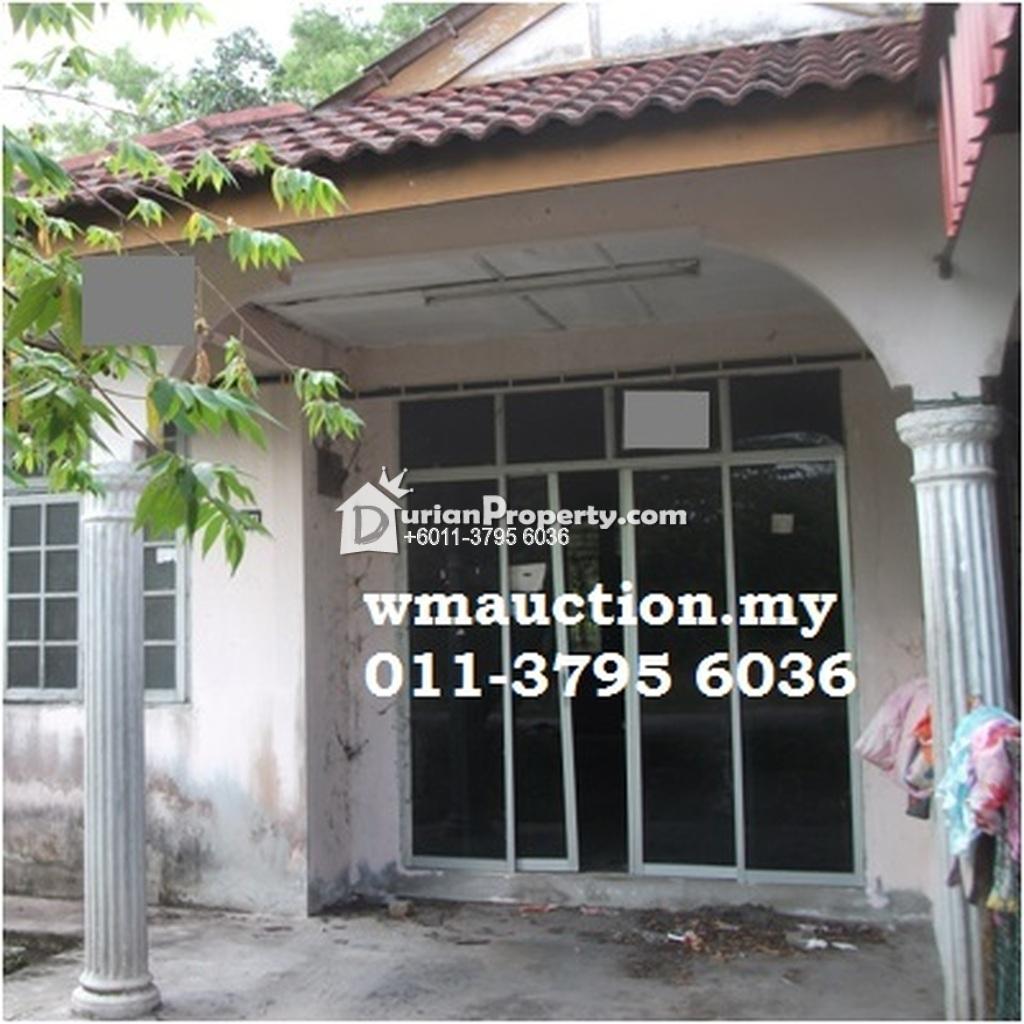 Terrace House For Auction At Taman Sri Selasih, Bachok For