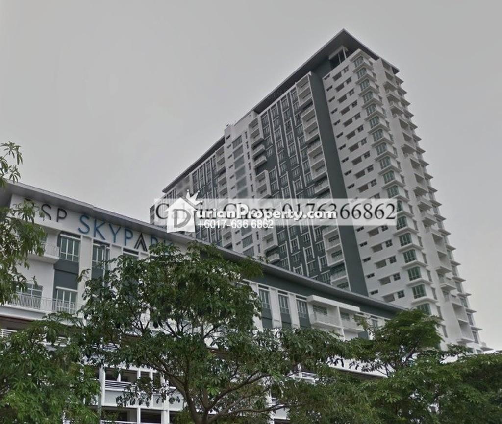 Condo For Auction at Bsp Skypark, Bandar Saujana Putra
