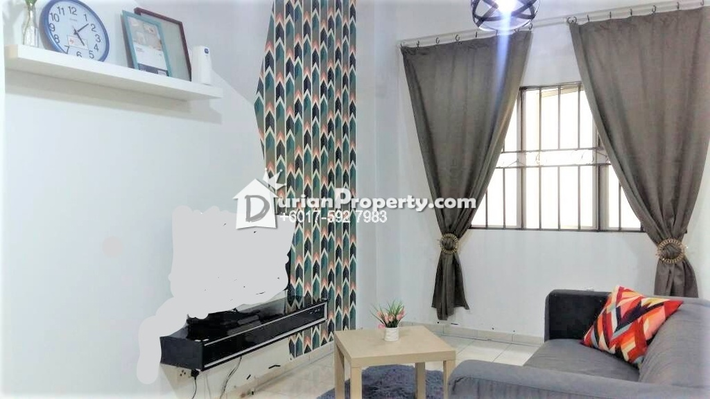 Apartment For Rent at Pangsapuri Damai Mewah, Taman Damai Mewah