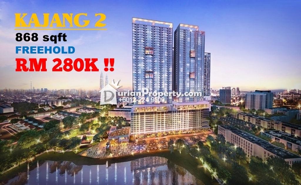 Condo For Sale at Kajang 2, Kajang