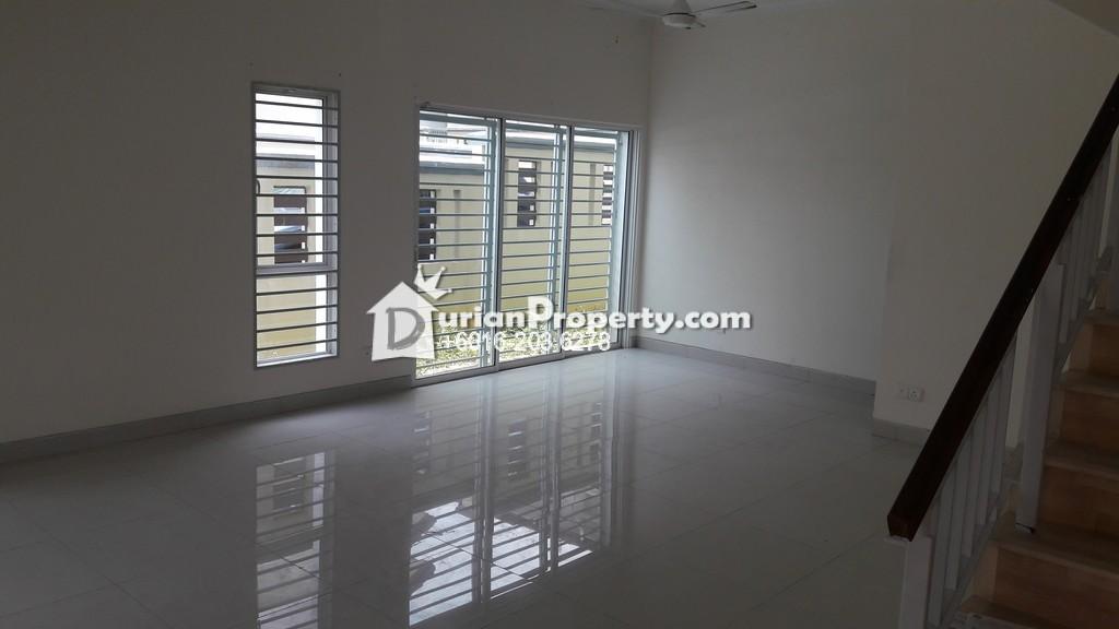 Terrace House For Rent At Alam Nusantara Setia Alam For