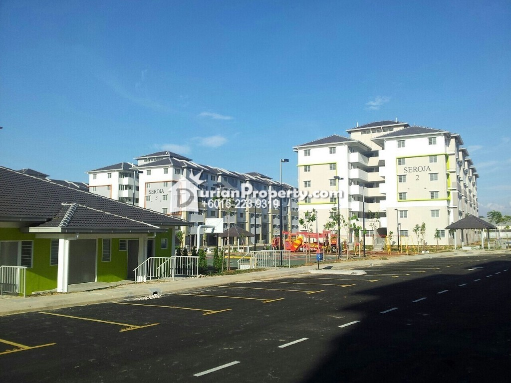 Flat For Sale at Pangsapuri Seroja, Section U13