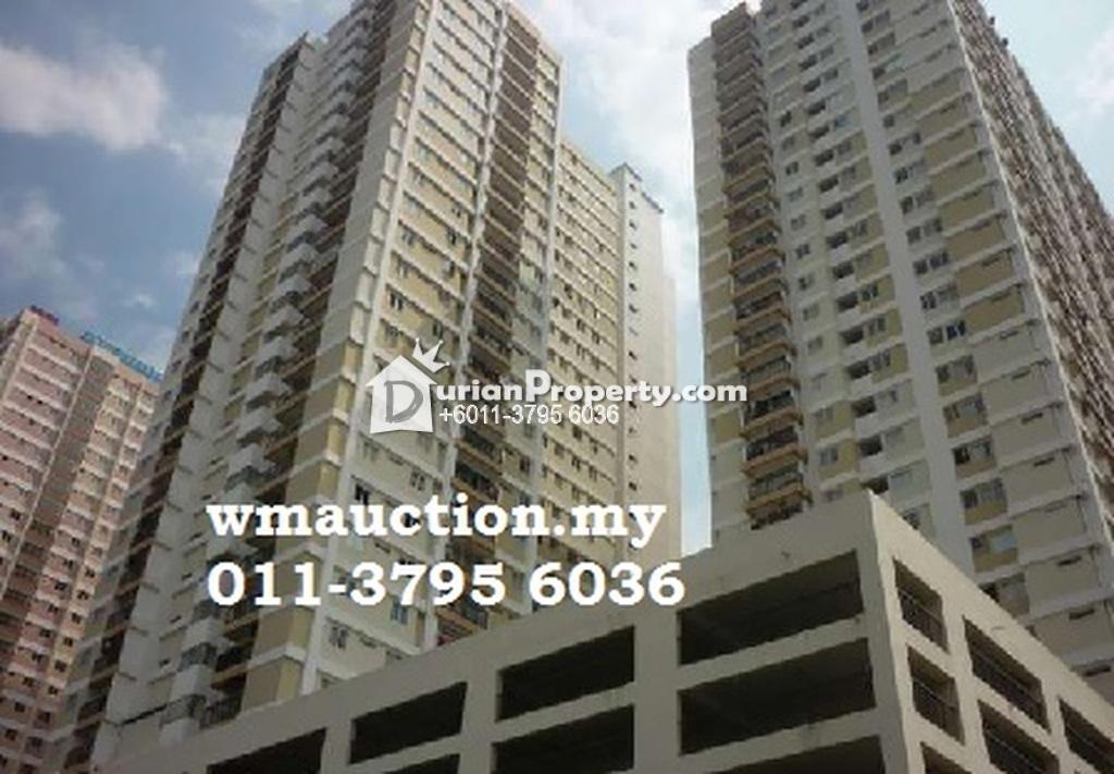 Apartment For Auction at Plaza Medan Putra, Bandar Menjalara