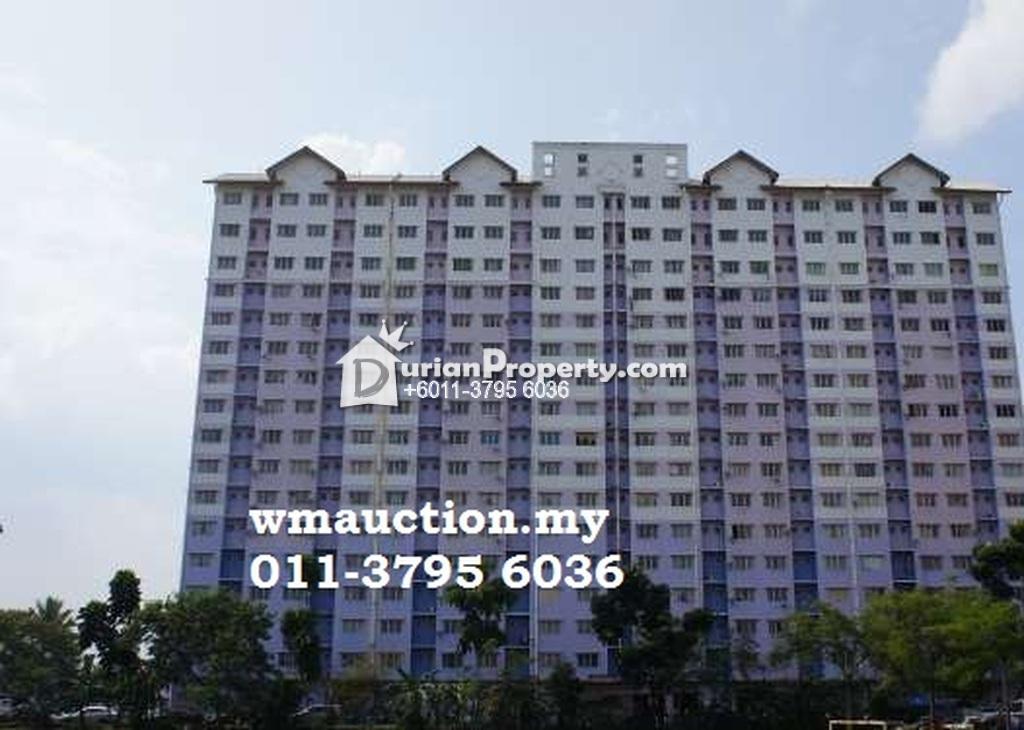 Apartment For Auction at Taman Medan Jaya Apartment, Petaling Jaya