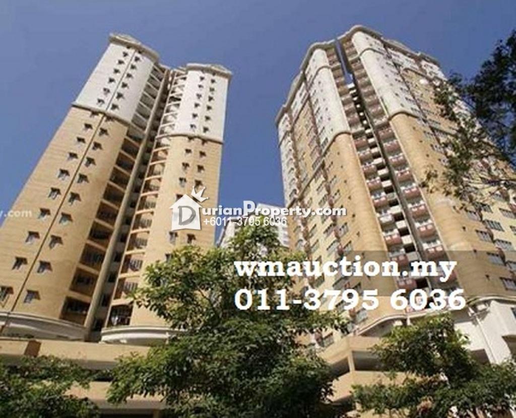 Apartment For Auction at Pangsapuri Melur, Bandar Baru Sentul