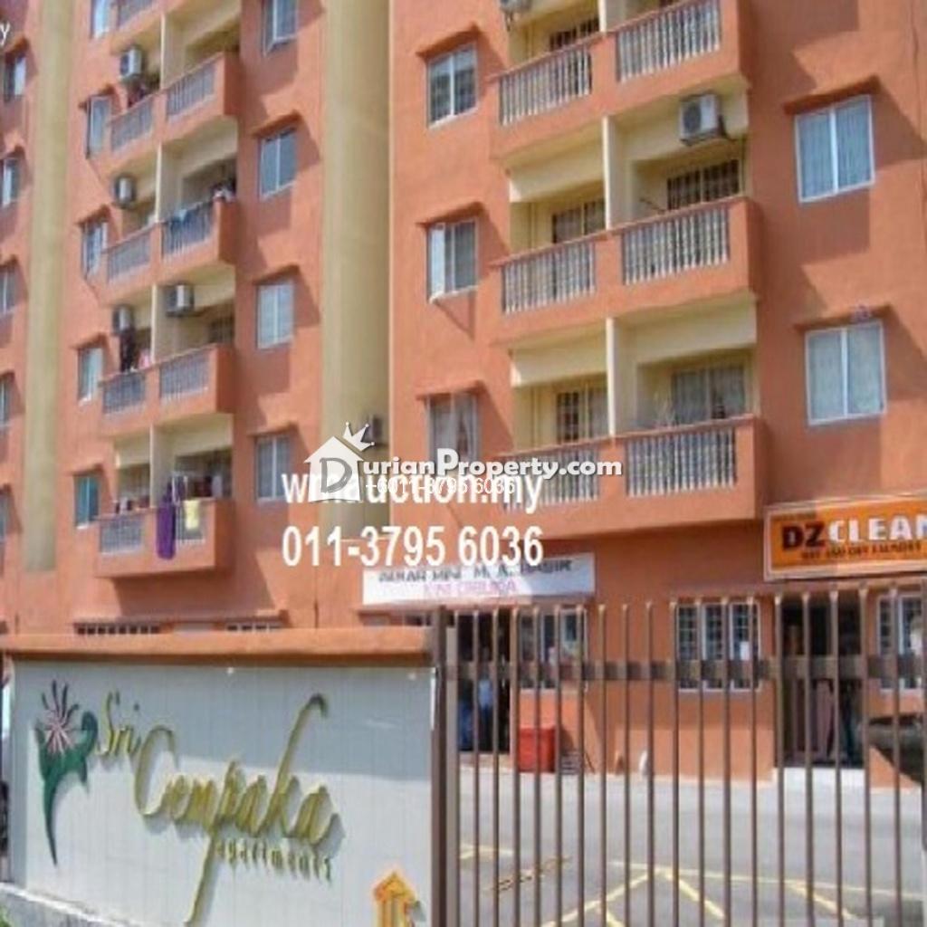 Apartment For Auction at Sri Cempaka Apartment, Kajang