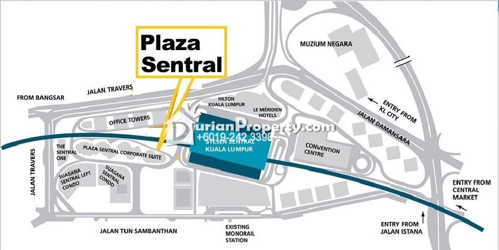 Office For Sale at Plaza Sentral, KL Sentral
