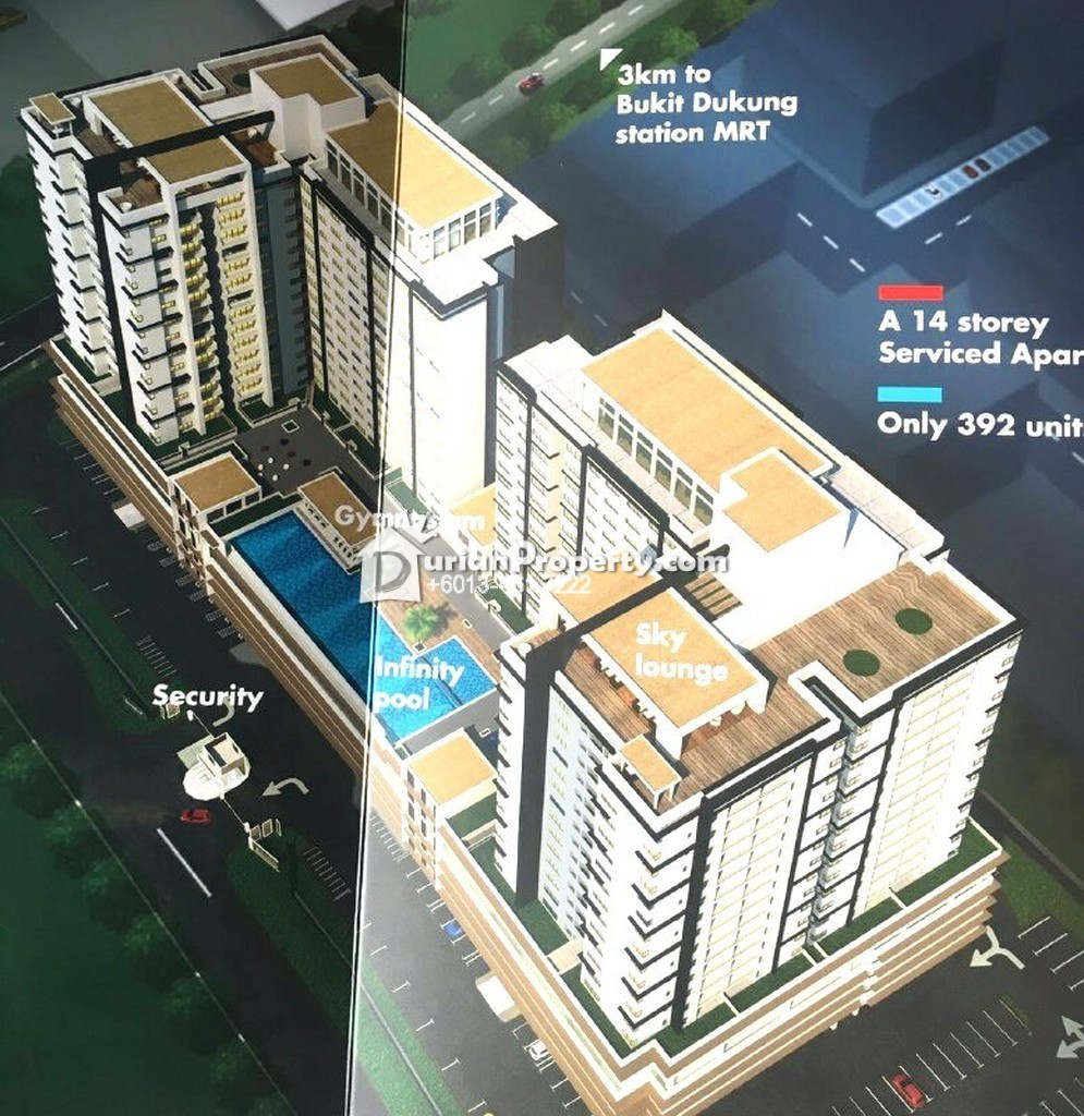 Serviced Residence For Sale at Taman Sutera, Kajang