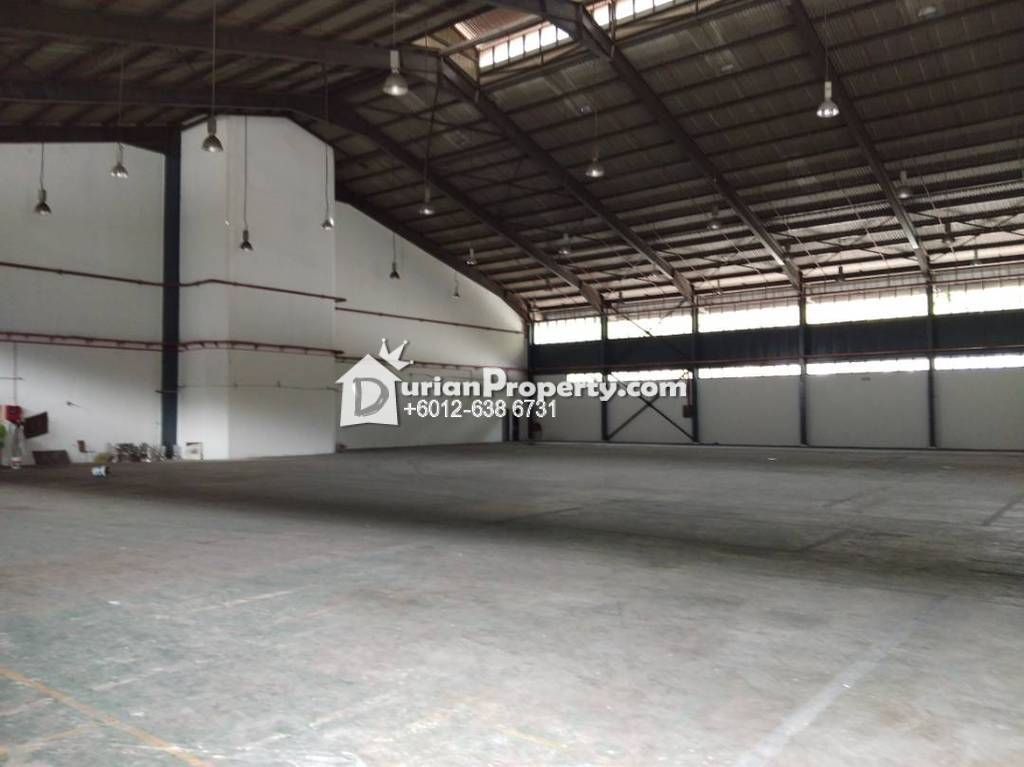 Detached Factory For Sale at Persiaran Anggerik Mokara, Kota Kemuning