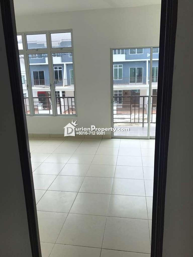 Terrace House For Sale at Taman Scientex, Senai