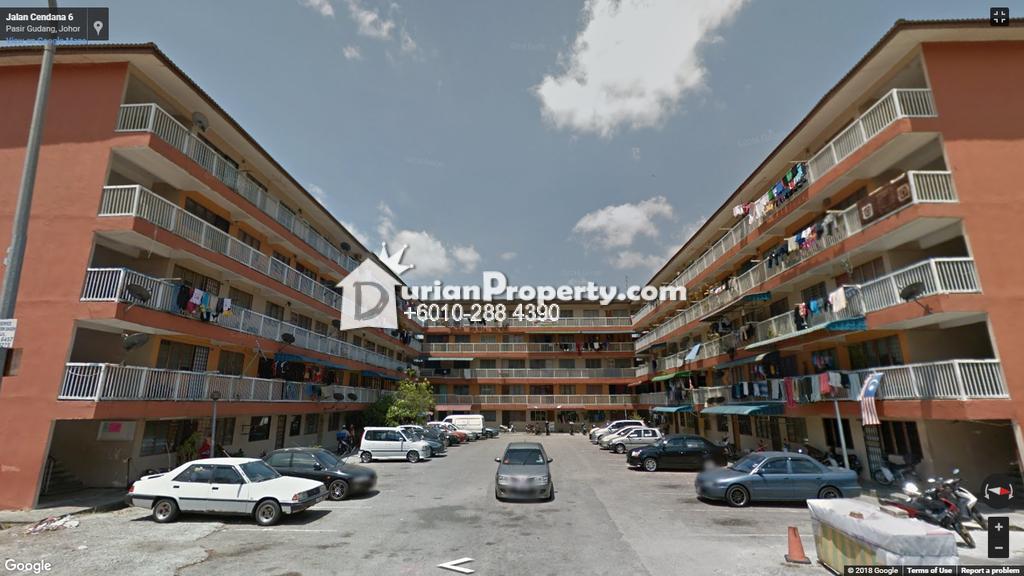 Flat For Auction at Taman Cendana, Pasir Gudang