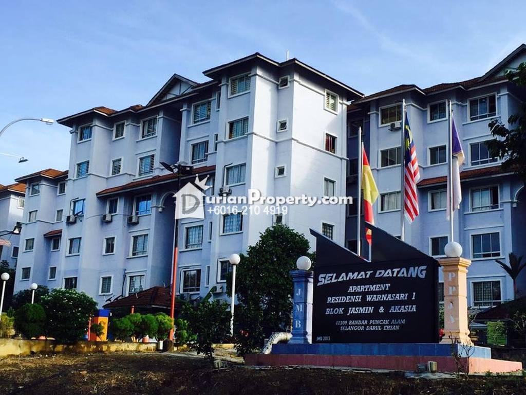 Apartment For Rent at Jasmin Apartment, Bandar Puncak Alam
