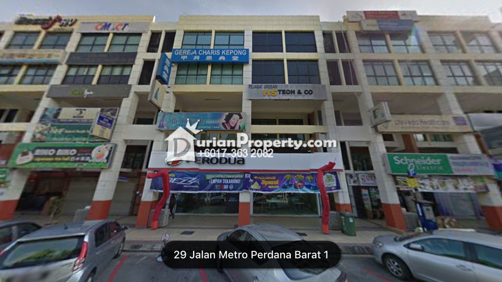 Shop For Sale at Taman Usahawan, Kepong
