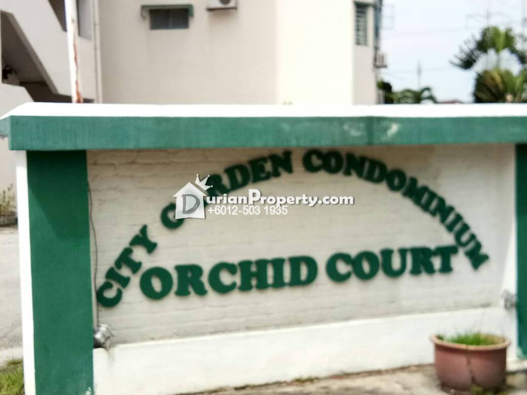 Condo For Sale at City Garden Orchid Court, Ampang
